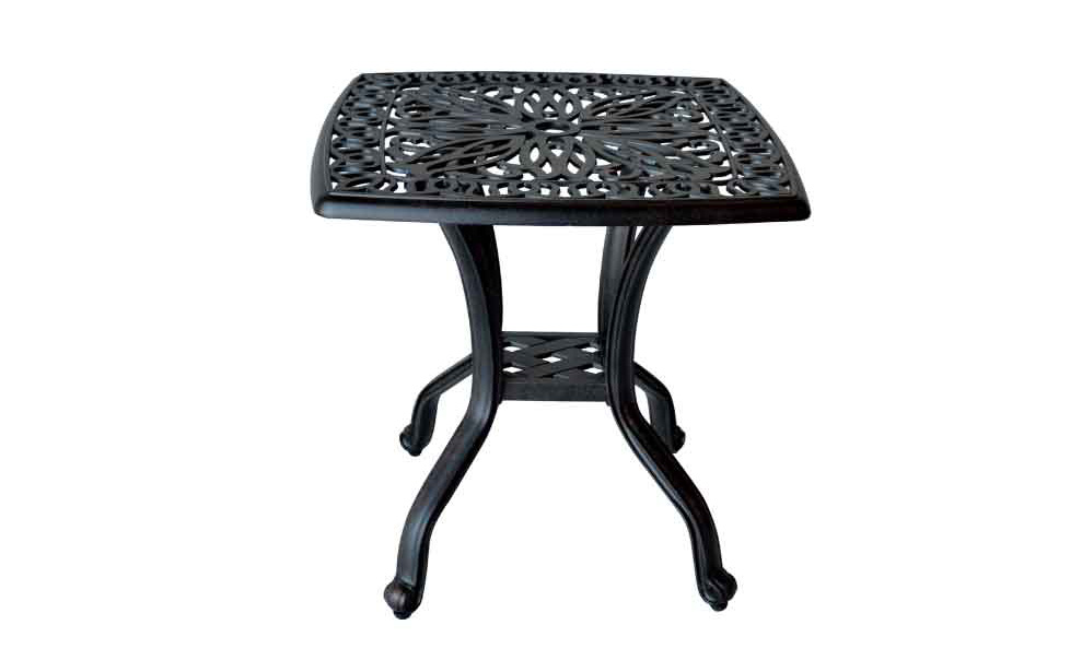 LD777E-Elizabeth 21in End Table W21xH18 Weight 26 lbs