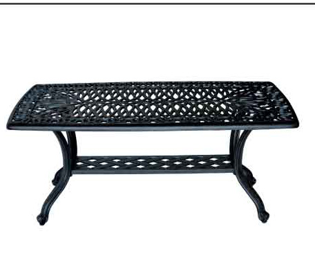 LD777F-Coffee Table W21xD42xH18 Weight 26 lbs