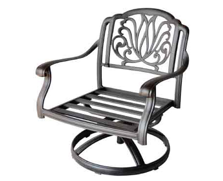 LD777-21RSwivel Club Rocker chair - W29,5xD31xH34 Weight 35 lbs