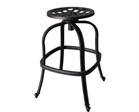 LD777-27-Bare Barstool - Dia 30 x H26 Weight 30lbs