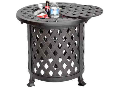 LD1031H -21 Nassau Round Multi End Table Dia 21xH21 Weight 20 lbs
