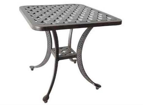 LD1031E Nassau End Table W21xD21xH21 - Weight 15lbs