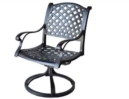 LD1031-11 Swivel Rocker Chair-seat Sizes W20xD21xH17 Total Sizes W24xD25xH37 Arm H25 Weight 35 lbs