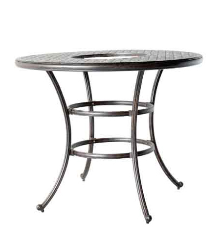 LD1031L-52-in Round Bar Table With ice - Bucket -Dia 52xH40 Weight 70 lbs