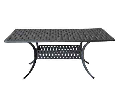 LD1031A-42x72-Rectangular Dining Table W42xD72xH29 Weight 110
